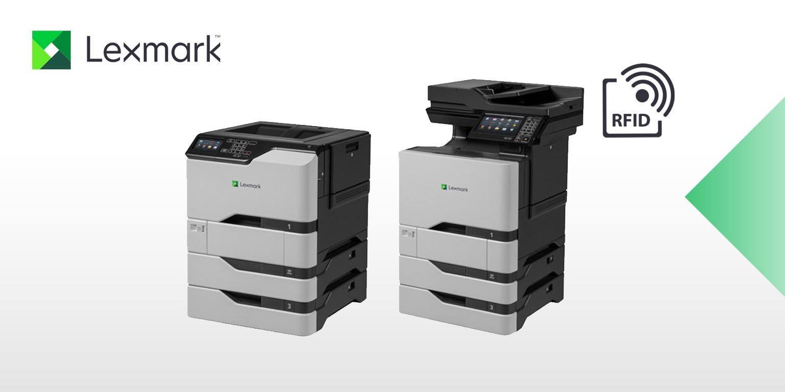 Imprimantes couleur RFID Lexmark